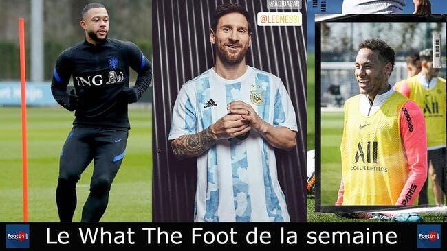 WTF : Messi le top-model, Neymar le petit FUTé, Mbappé le chambreur