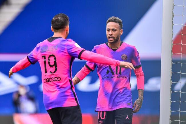 Neymar redonne la tête et le sourire au PSG