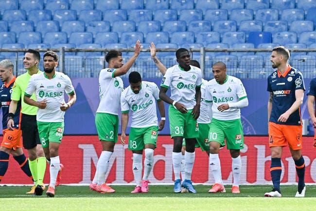 L1 : Hamouma-Debuchy, les «vieux» offrent le maintien aux Verts