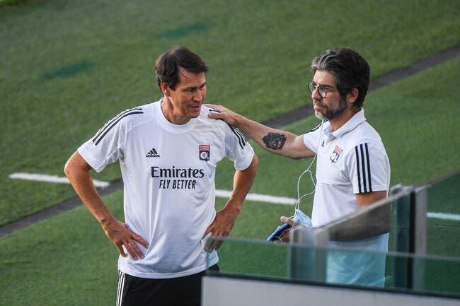 OL : Juninho a grillé un joker avec Rudi Garcia