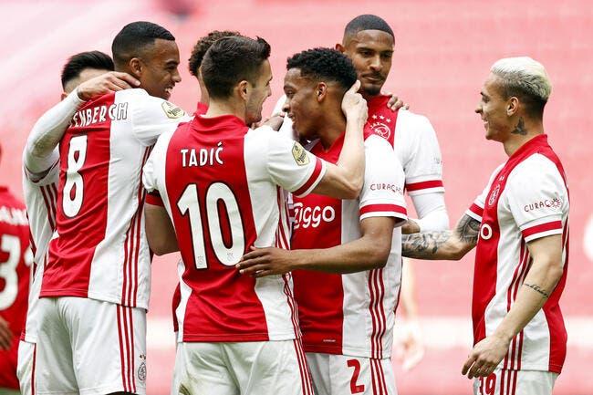 Pays-Bas : L'Ajax Amsterdam sacré