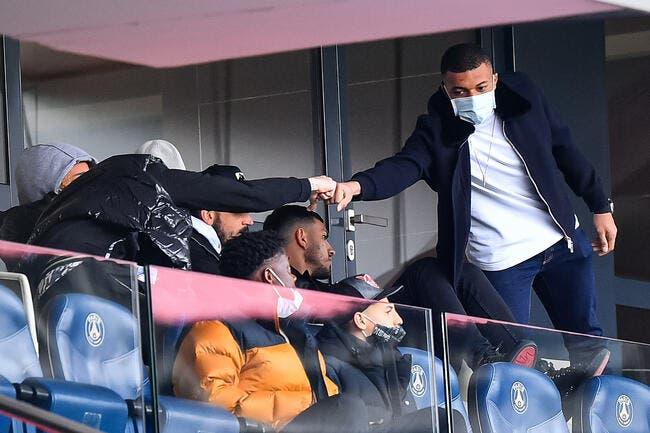 PSG : Mbappé dans le groupe face à City
