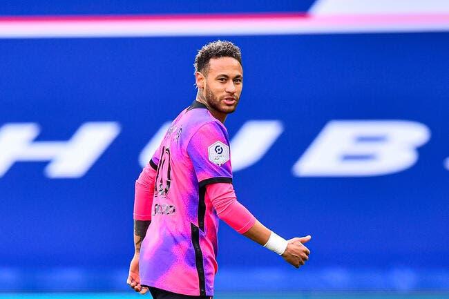 PSG : Neymar, un coup de colère truqué ?