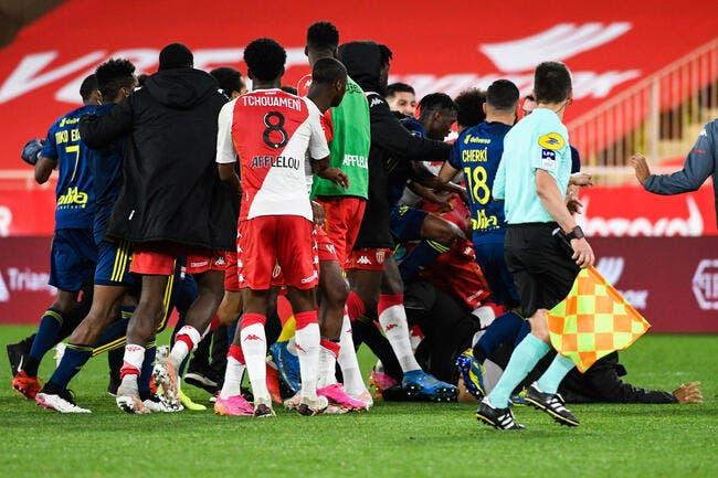 OL : Lyon perdant de la baston générale par KO