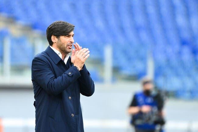 Série A : Rome acte le départ de Paulo Fonseca