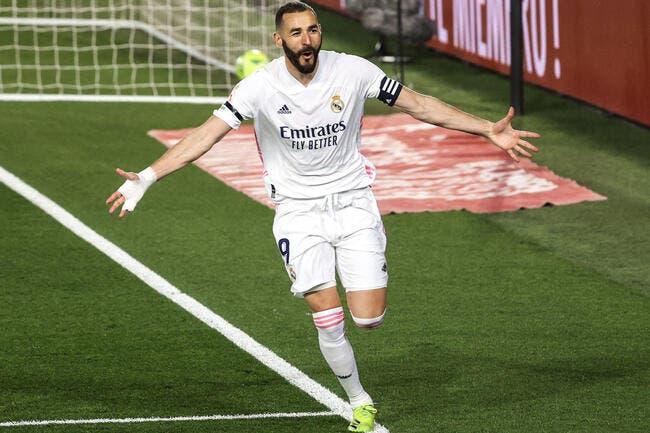 Esp: Le roi a tranché, Benzema élu meilleur attaquant au monde
