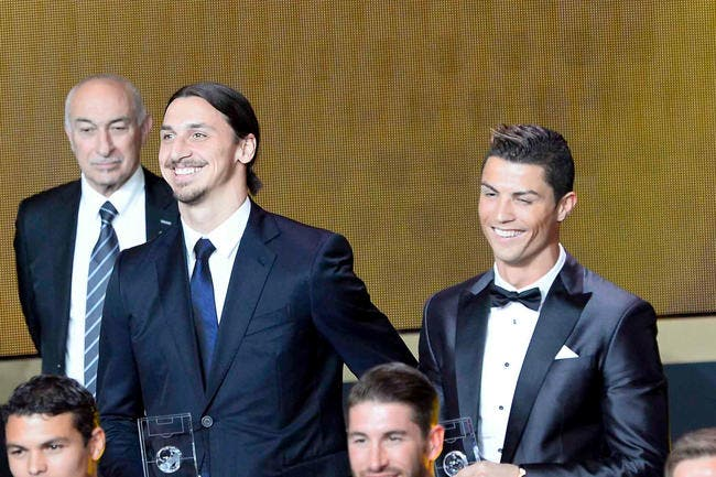 Ita : Cristiano Ronaldo vs Ibrahimovic, la fête des vieux