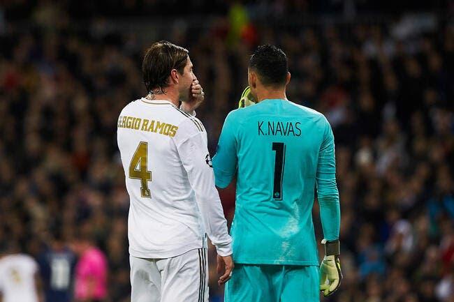 Esp : Sergio Ramos drague le PSG, Neymar complice !