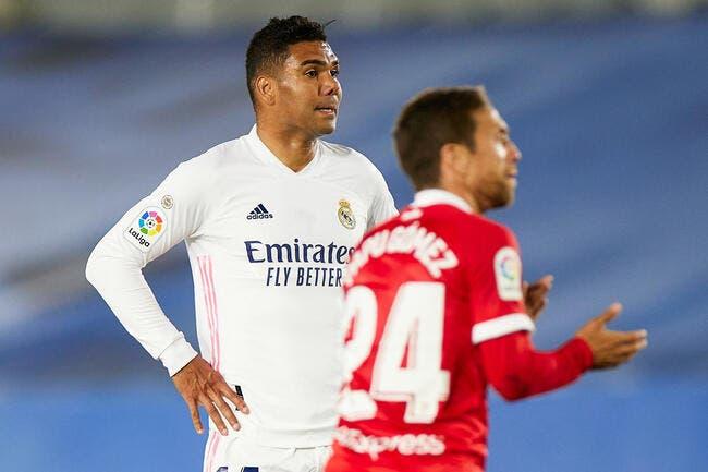 Liga : Le Real évite le pire, mais perd la main pour le titre