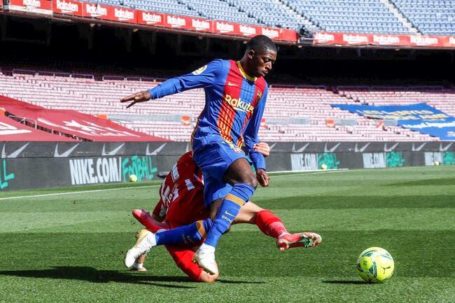 Mercato : 105 ME de gâchis, le Barça est cash avec Dembélé
