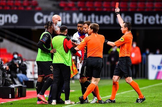 PSG : Un rouge pour son tacle fou, Domenech félicite Kimpembe