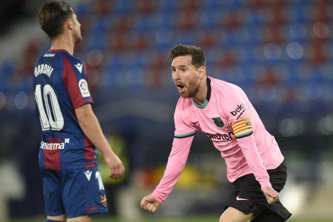 Liga : Incroyable, le Barça craque encore