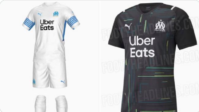 Photos : Les deux nouveaux maillots de l'OM ont fuité