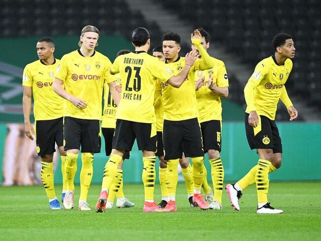 All : Haaland et Sancho offrent la Coupe à Dortmund