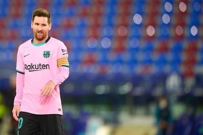 Esp : Messi joue la montre, le Barça ne va pas aimer