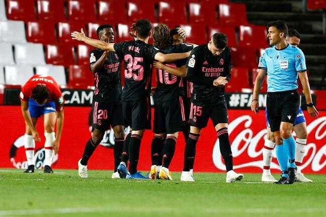 Liga : Benzema et le Real ne tremblent pas à Grenade
