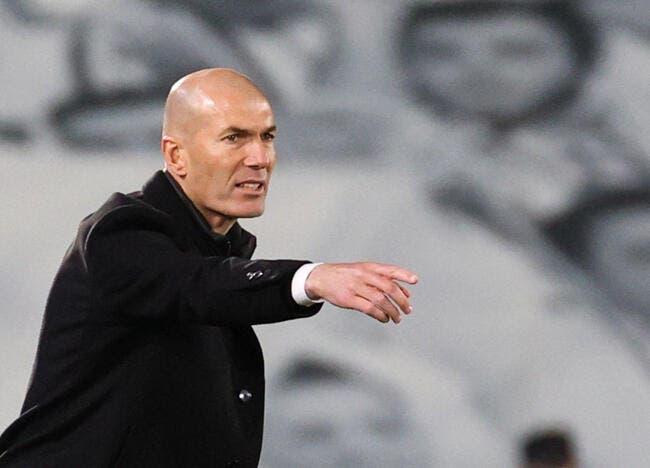 Esp : Zidane aurait décidé de quitter le Real Madrid !