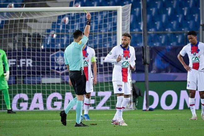 Neymar suspendu pour la finale PSG-Monaco !