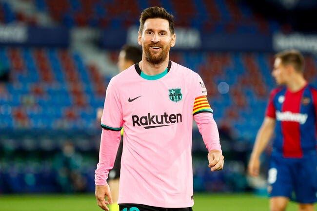 Esp : 1,4 milliard de déficit, Messi dit ciao au Barça