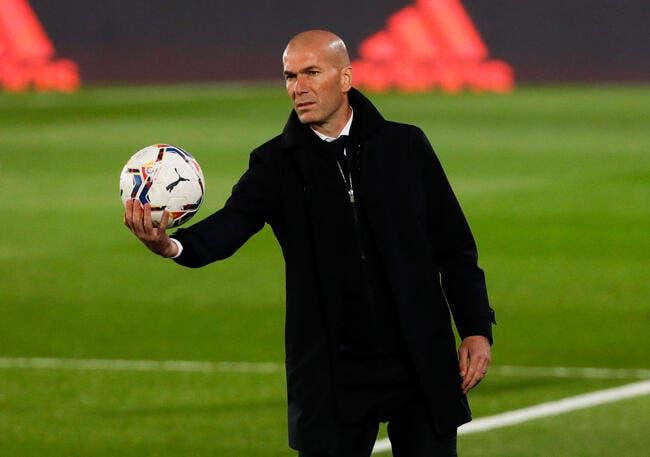 Esp : Zidane met le Real Madrid en alerte !