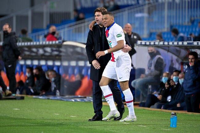 PSG: Blessé par Mbappé, Pochettino en redemande