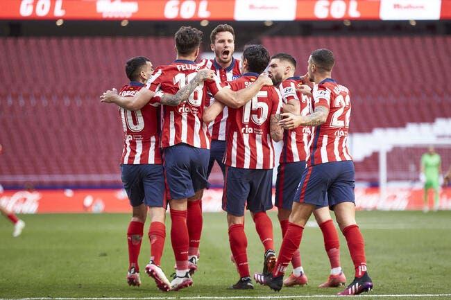 Liga : Le Real ne lâche pas l'Atlético, le Barça si