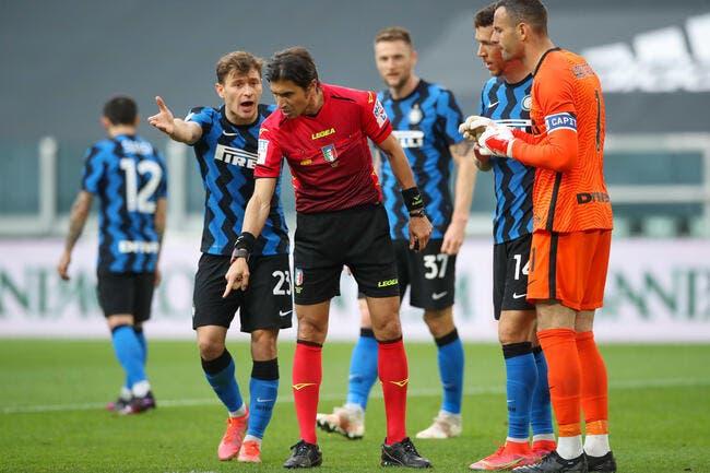 Ita : L'arbitrage de Juventus-Inter fait toujours scandale !