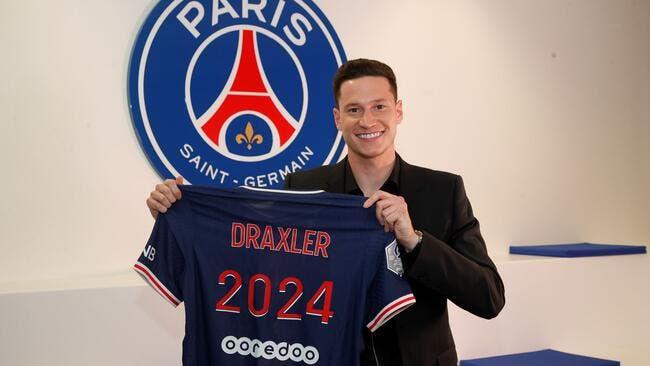 PSG : Draxler jusqu'en 2024, c'est officiel !