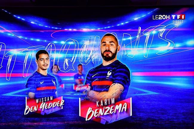 EdF : Benzema est «fier» de son retour avec la France