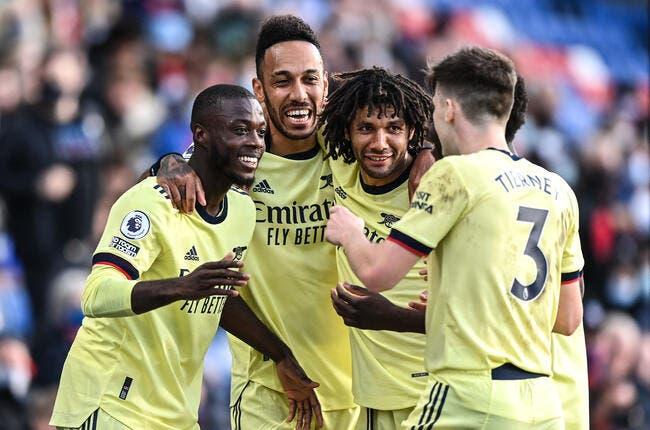 Ang : Arsenal revient à un point de l'Europe