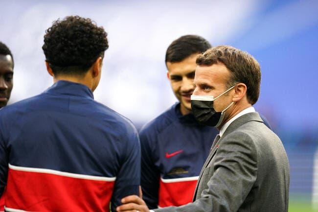 PSG-ASM : Daniel Riolo conquis par les poignées de mains de Macron