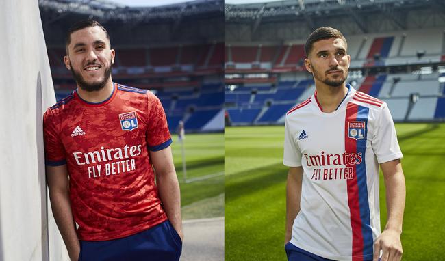 OL : Aouar et Cherki dévoilent les nouveaux maillots