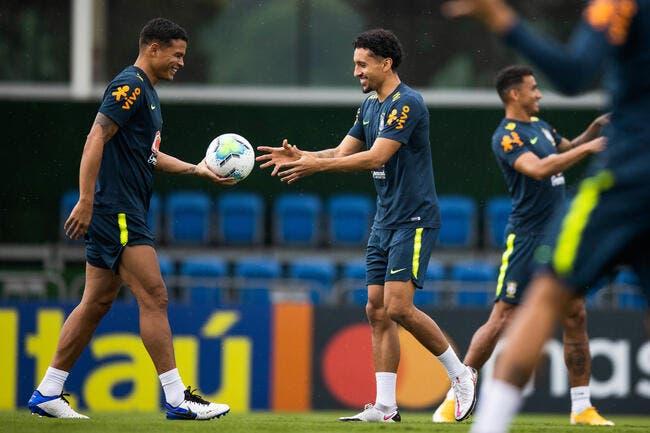 PSG : Marquinhos imite Neymar et Mbappé