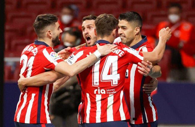 Esp : L'Atlético Madrid champion d'Espagne !