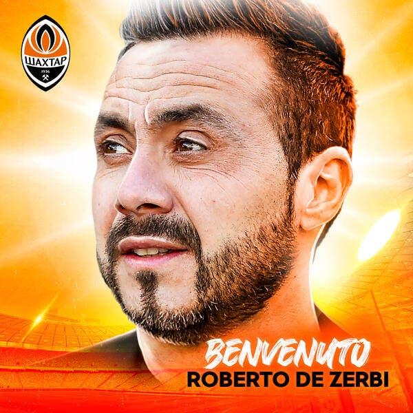 Officiel : De Zerbi entraineur du Shakhtar