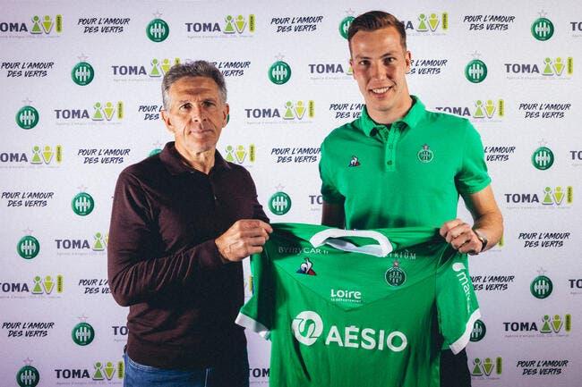 Officiel : Etienne Green prolonge avec l'ASSE