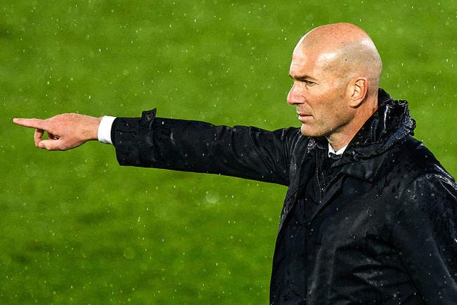 Esp : Zidane quitte le Real Madrid !