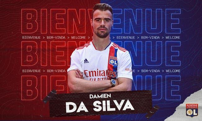 Lyon : Damien Da Silva a signé jusqu'en 2023 !