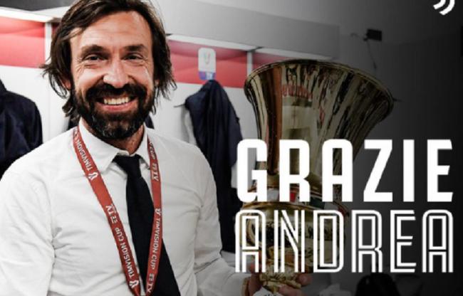 Officiel : La Juventus confirme le départ de Pirlo