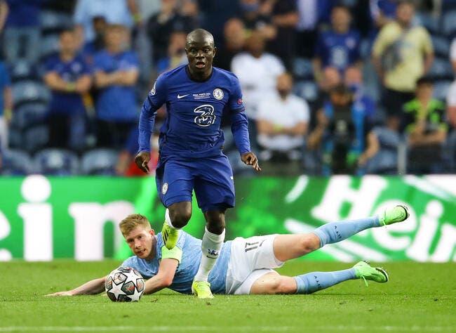 LdC : N'Golo Kanté élu homme du match
