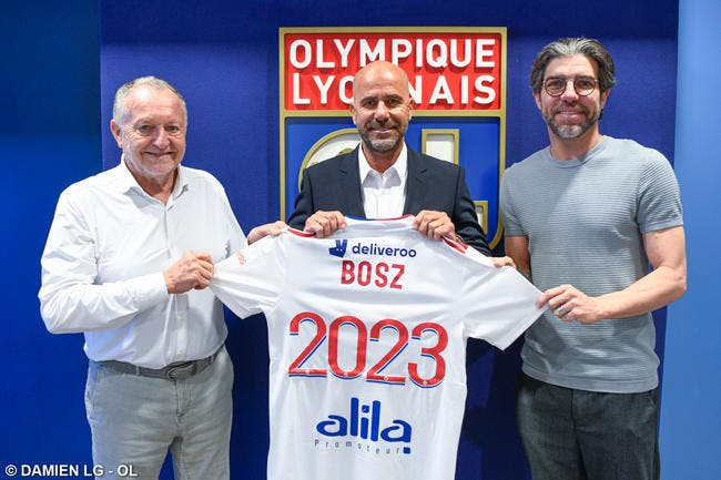 Officiel : Peter Bosz entraineur de Lyon jusqu'en 2023 !
