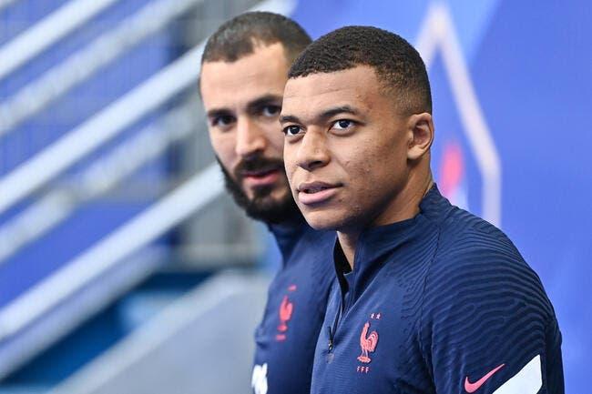 Karim Benzema provoque le Qatar avec Kylian Mbappé