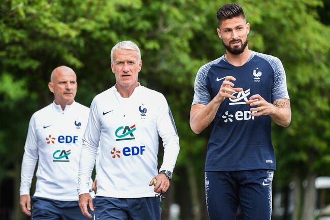 Deschamps règle l'affaire Olivier Giroud en deux mots !