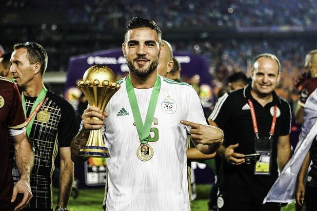 Andy Delort fête ses 30 ans, l'Algérie gâche la fête