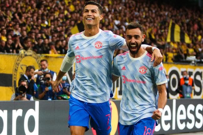Cristiano Ronaldo se les gèle pour briller à Manchester