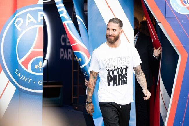 Sergio Ramos viré par le PSG, un stop brutal