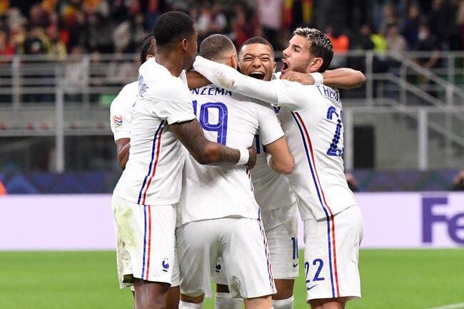 Benzema et Mbappé offrent la Ligue des Nations à la France