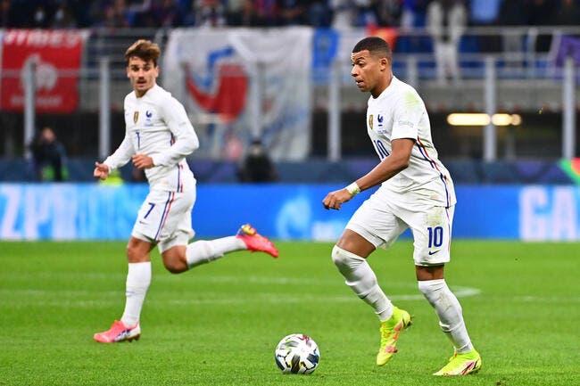 Mbappé et Griezmann, les notes de L'Equipe font bondir !