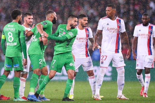 L1 : L'AS Saint-Etienne finalement sauvée par Lyon