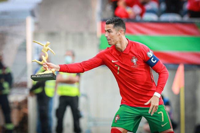 Cristiano Ronaldo meilleur buteur de l'histoire en sélection